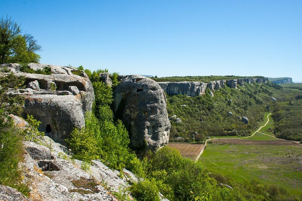 Eski-kermen, Nature, Travel, Landscape, Stone