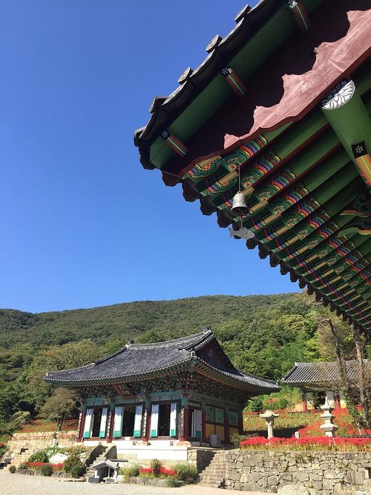 Nature, Buddha, Stone Steps, Jeollanam-do, Travel