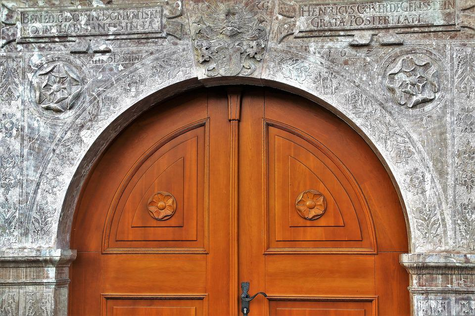 Architecture, The Door, Facade, Travel, Stone