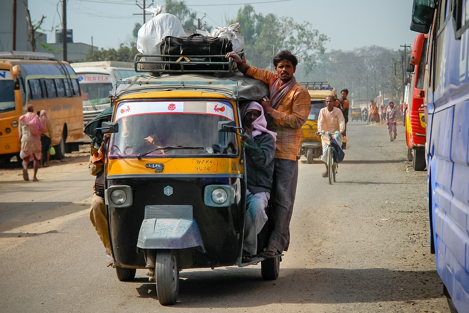 Rickshaw, Travel, Taxi, Transport, Transportation