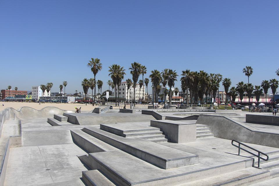 Travel, Architecture, Tourism, City, Sky, Venice Beach