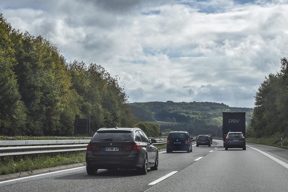 Road, Highway, Traffic, Asphalt, Landscape, Travel