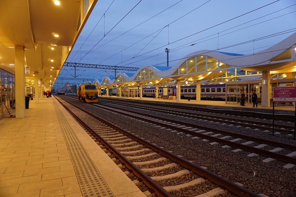Transportation System, Travel, Station, Train