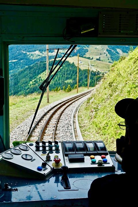 Driver, View, Track, Train, Transportation, Travel