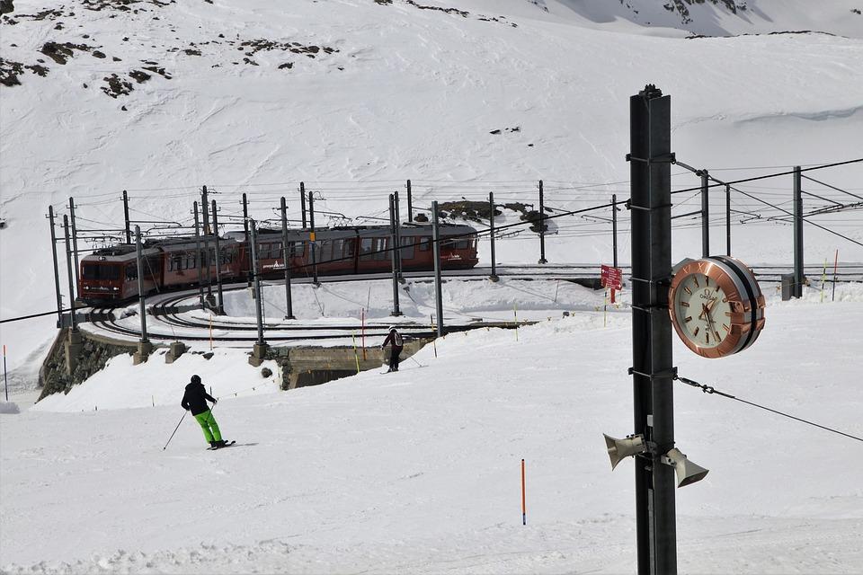 Zermatt, Ski, Snow, Winter, Cold, Transport, Travel