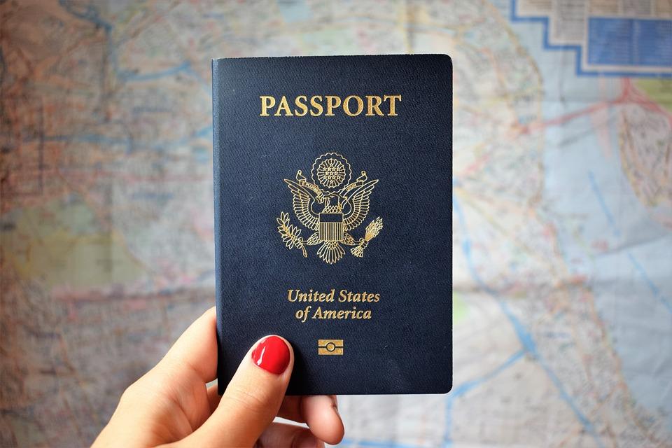 Travel, Map, Passport, World, Travelling, International