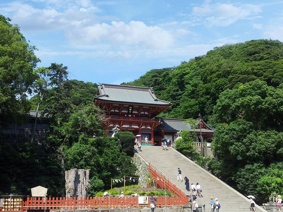 Tsurugaoka Hachimangu Shrine, Japan, Travel