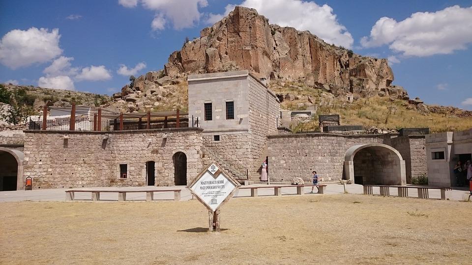 Travel, Underground City In Cappadocia