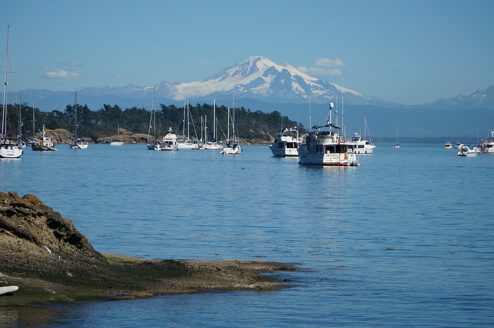 Water, Travel, Sea, Sky, Harbor, Sailing, Washington