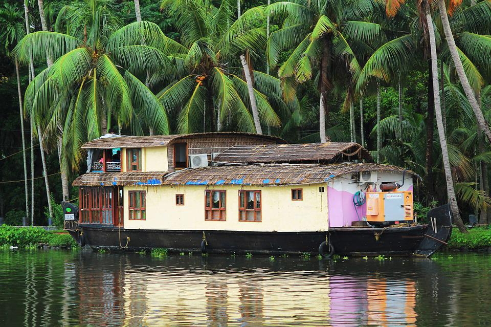 House Boat, Boat, Travel, Water, Nature, Holiday
