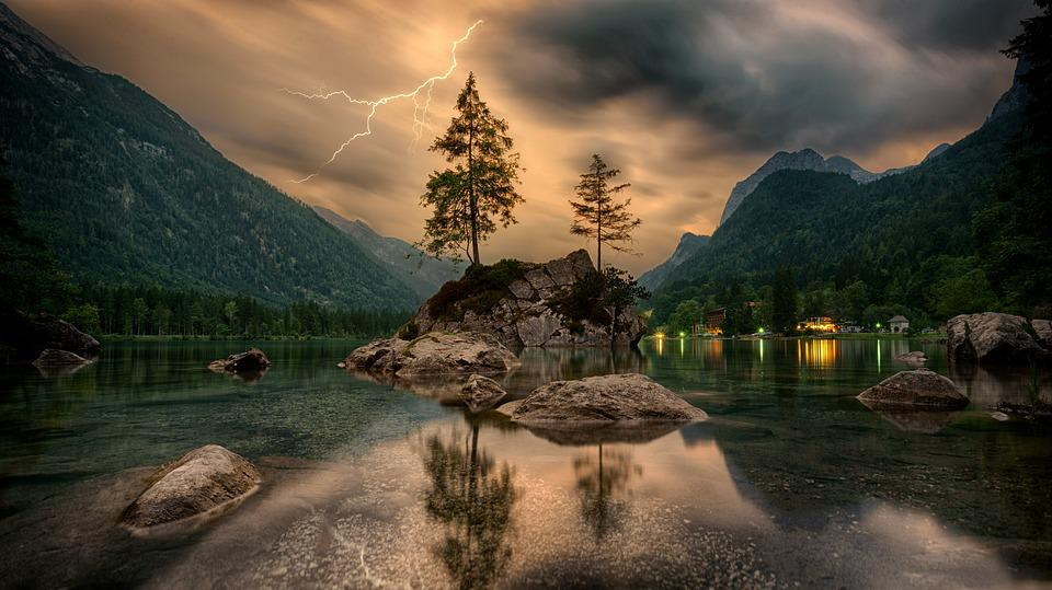 Nature, Waters, Travel, Mountain, Landscape