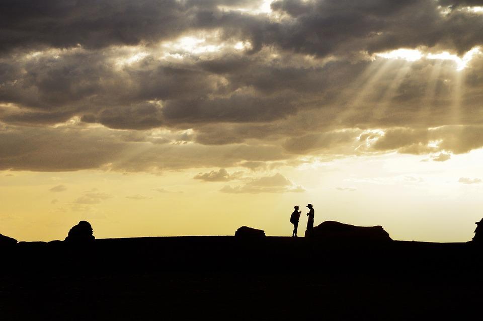 Traveler, Sunshine, The Clouds, Wilderness