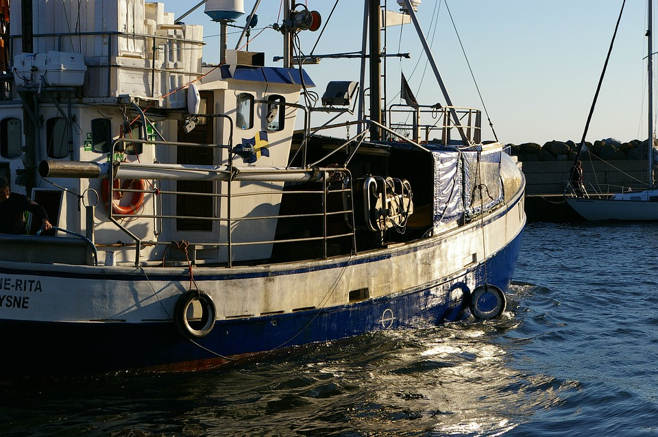 Fishing Boat, Fishermen, Port, Trawlers
