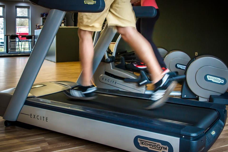 Fitness, Treadmill, Running, Fitness Studio, Gym