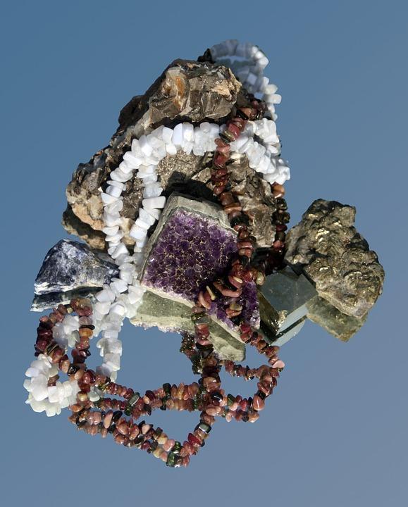 Treasure, Gems, Maritime, Decoration