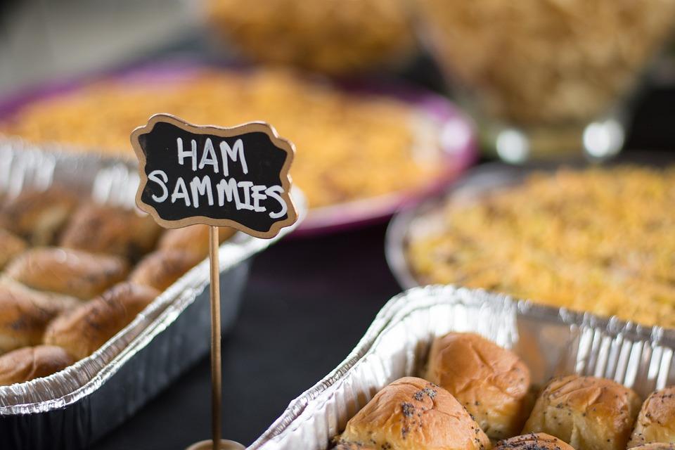 Ham, Party, Treats, Sandwich, Treat, Food, Delicious