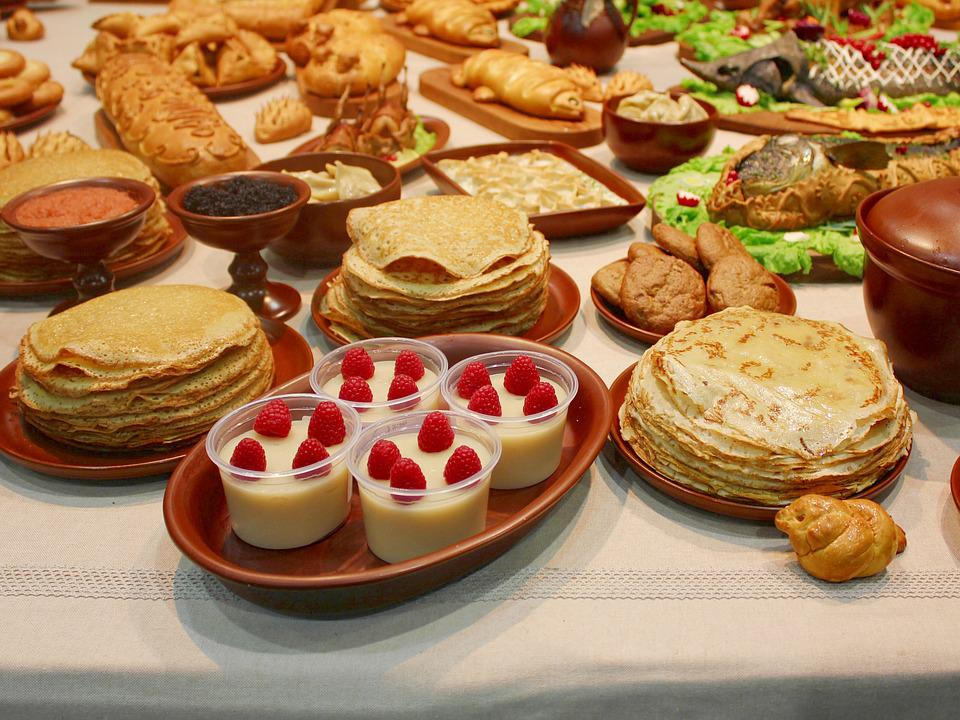 Carnival, Pancakes, Table, Desserts, Treats, Cooking