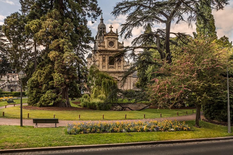Tree, Park, Sky, Outdoor, Travel, Blois, Church, Nature