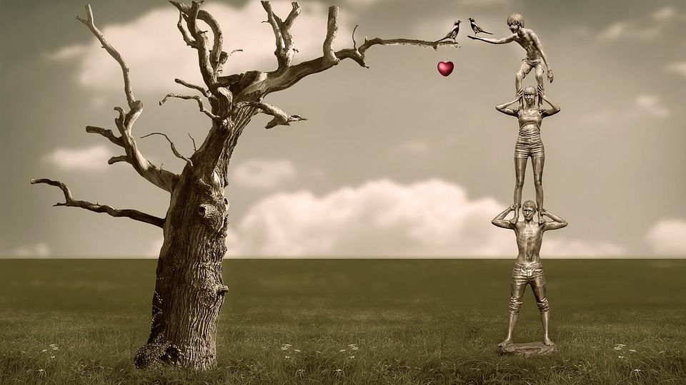 Emotions, Family, Love, Tree, Sculpture