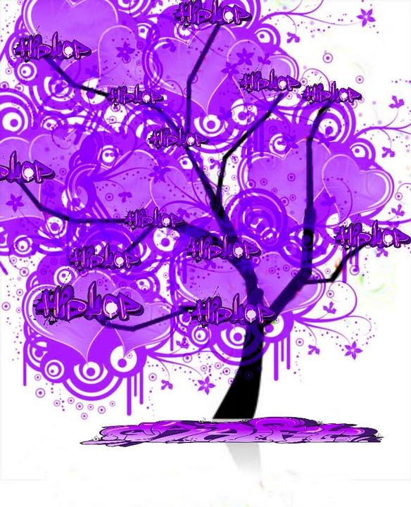 Tree, Lilac, Imagination, Flowers