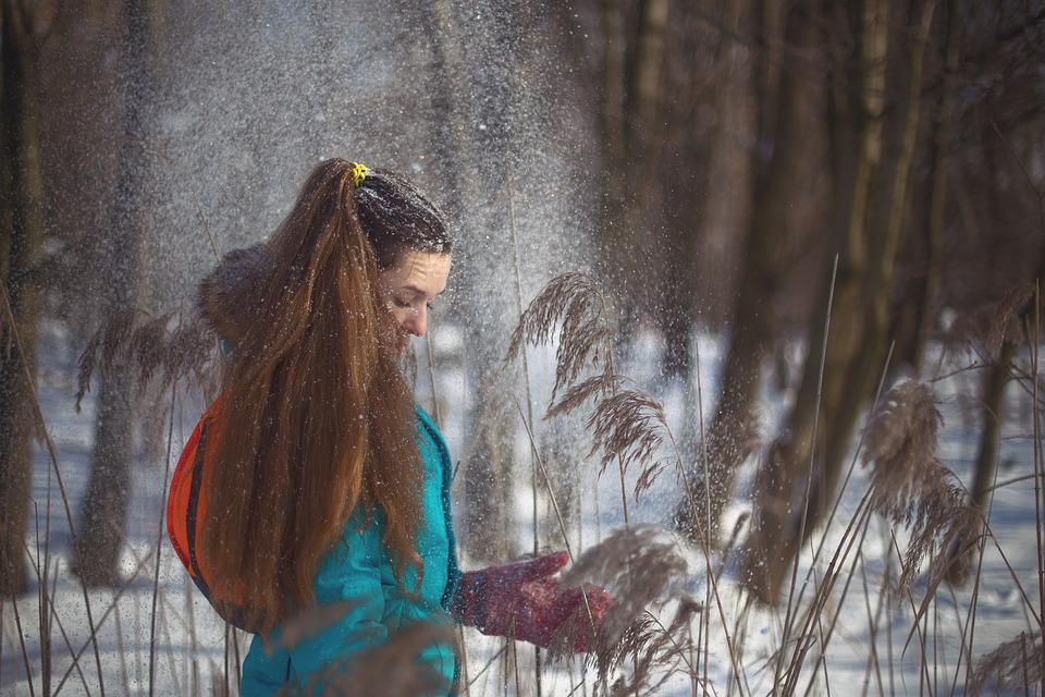 Tree, People, Woman, Grown Up, Nature, Girl, Lovely