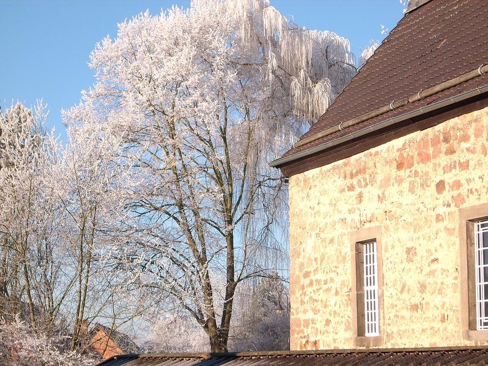 Church, Tree, Sky
