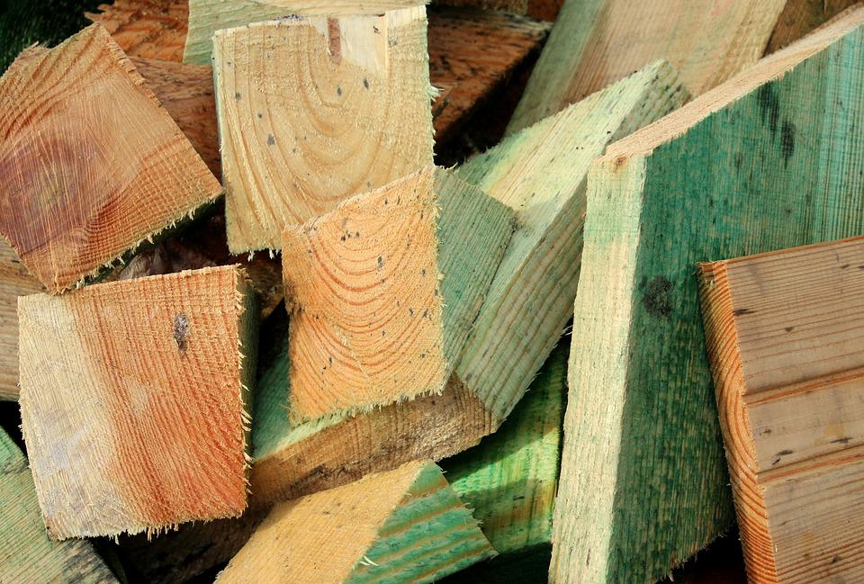 Wood, Cut The, Building Materials, Building, Tree