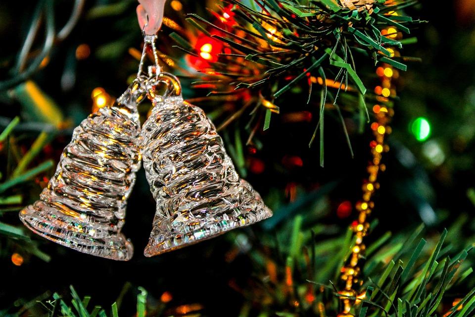 Bell, Tree, Christmas, Holiday, Xmas, Celebration