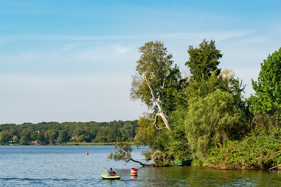 Lake, Potsdam, Havel, Landscape, Water, Trees, Nature