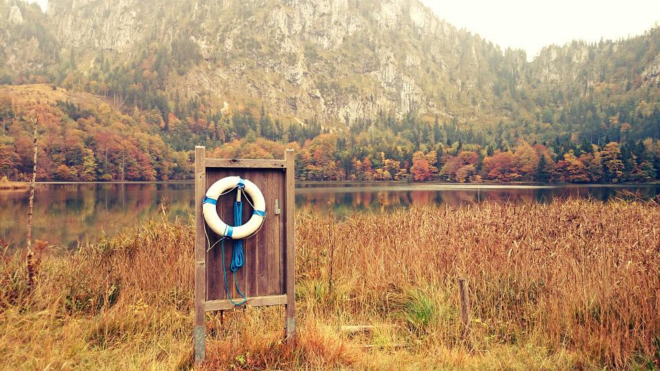 Lake, Autumn, Sky, Trees, Water, Nature, Landscape