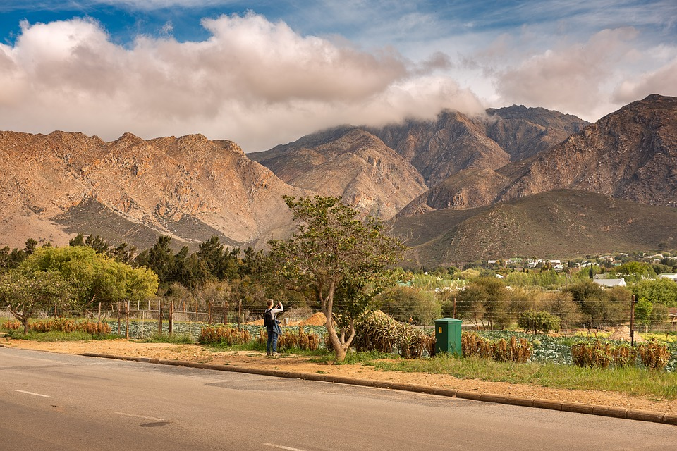 South Africa, Travel, Landscape, Mountains, Trees