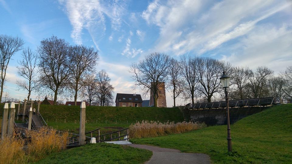 Woudrichem, Woerkem, Dr Tinus, Nature, Air, Trees