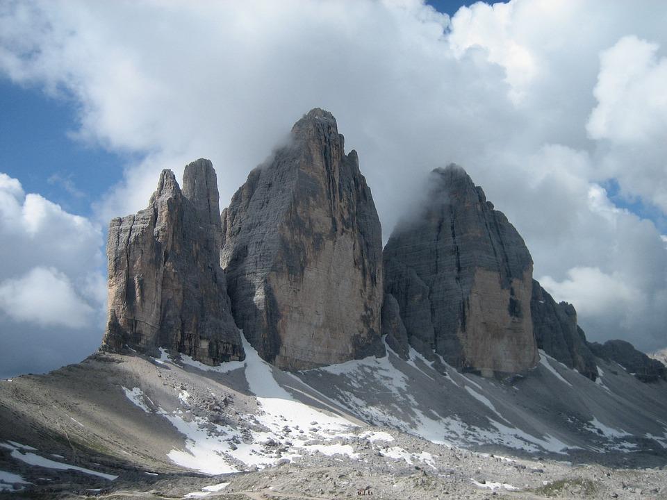 Mountain, Treking, Clouds