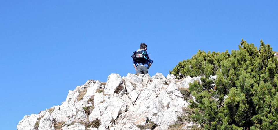 Hiking, Trekking, Rock, Mountain, Italy, Veneto