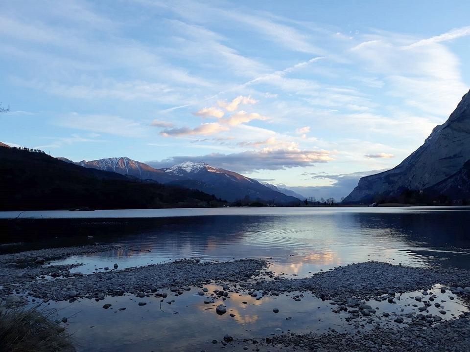 Lake, Mountains, Dolomites, Trent, Trentino Alto Adige