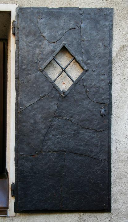 Door, Iron, Ancient, Wrought Iron, Antiquity, Trentino