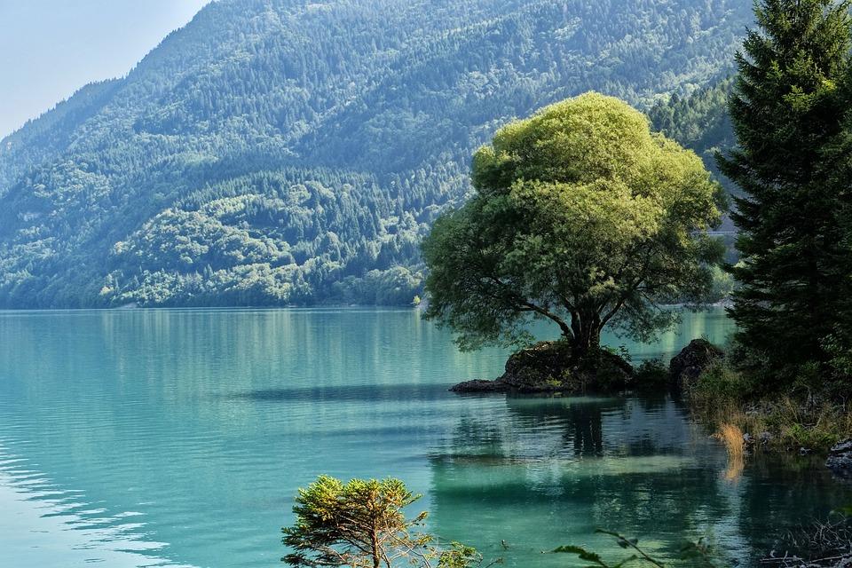 Trentino, Lake, Nature, Dolomites, Italy, Mountains