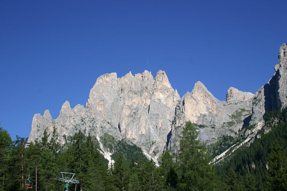 Dolomites, Rocks, Nature, Sky, Trentino, Landscape