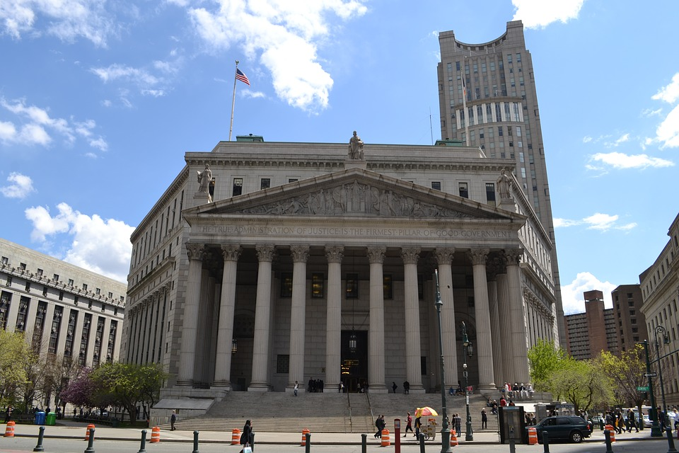 Court Building, Court House, Judge, Trial, Arrested