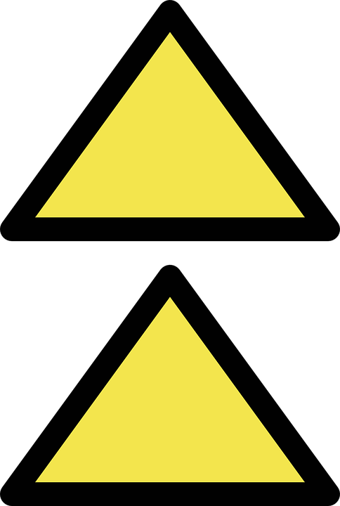 Triangles, Up, Geometric, Template