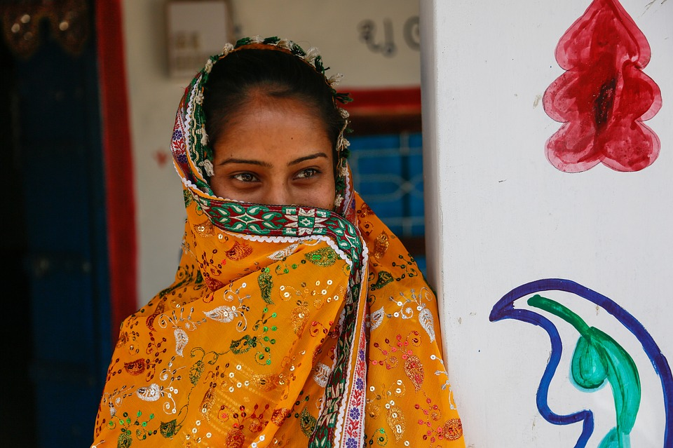 Beautiful Girl, Indian Girl, India, Village, Tribal