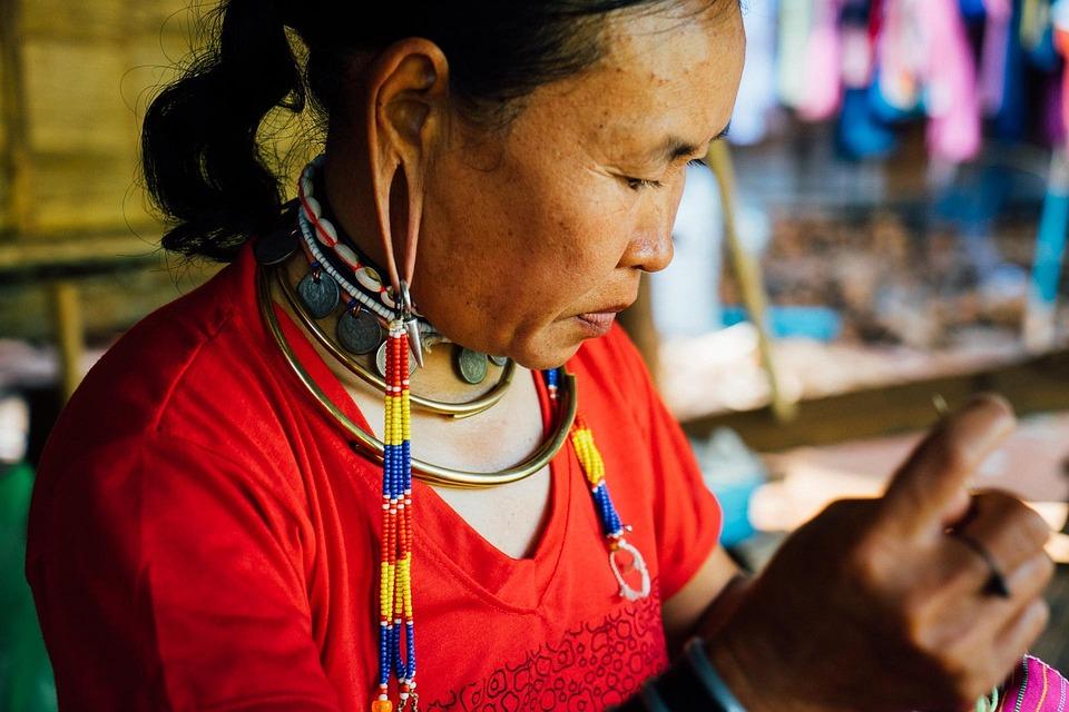 Thailand, Woman, Culture, Tribal, Craft, Tourism, Thai