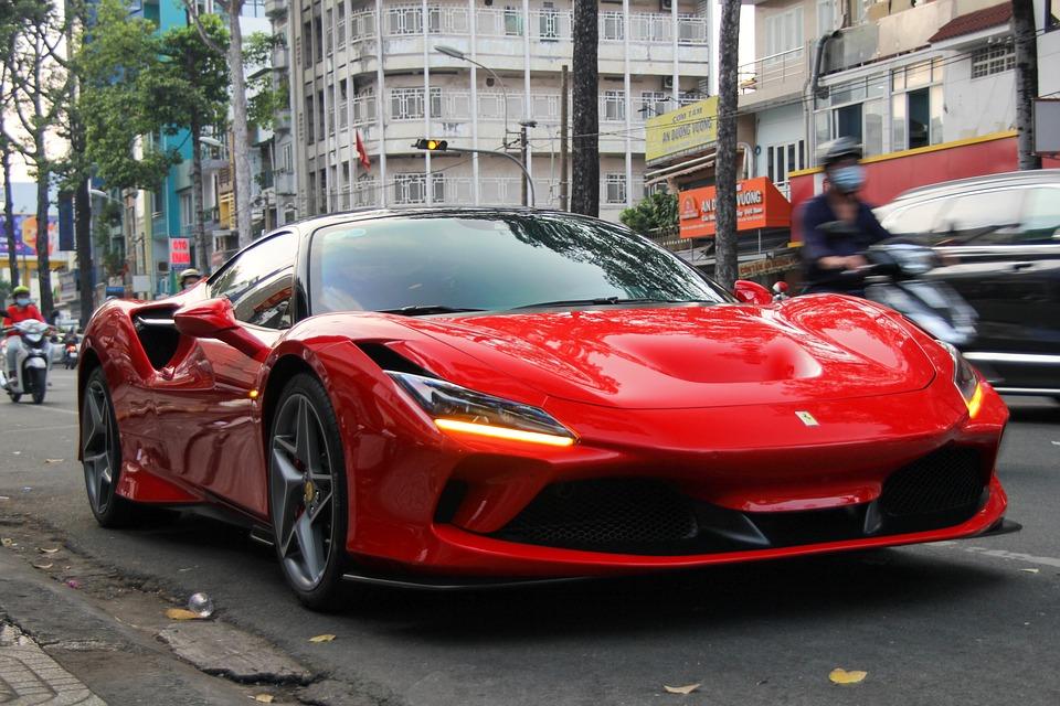 Ferrari, F8, Tributo, Supercar, Car, Vehicle