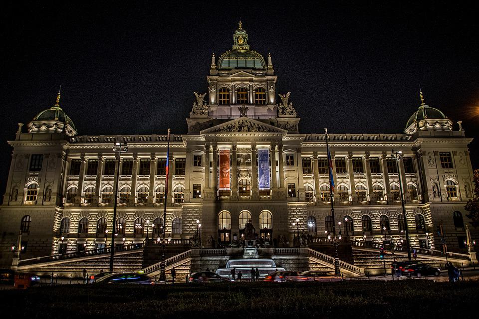 Museum, Tricolor, Czechoslovakia, Building, History