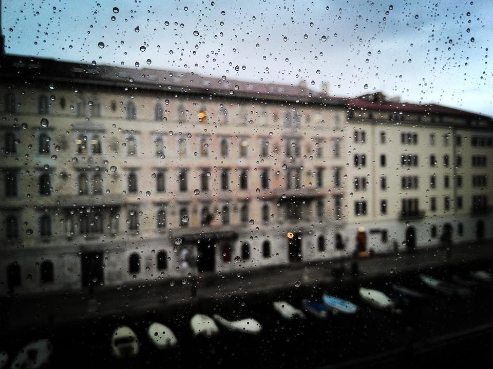 Trieste, Rain, Palazzo, History, City, Architecture