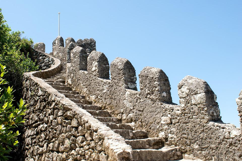 Portugal, Sintra, Castle, Old, Trip, Travel, Ride