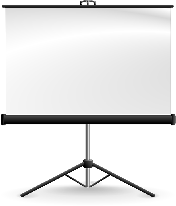 Screen, Projector, Projection, Tripod, Conference