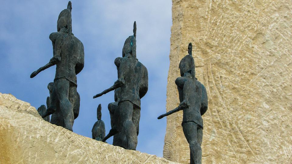 Cyprus, Ayia Napa, Sculpture Park, Trojan Horse