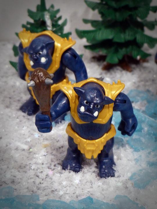 Playmobil, Exhibition, Toys, Figures, Troll, Oger