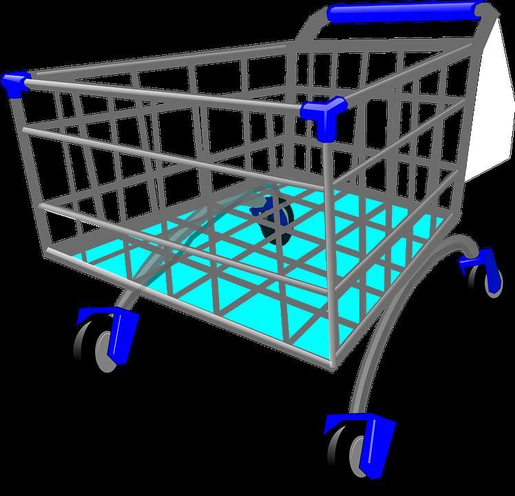Caddy, Shopping Cart, Shopping Trolley, Trolley
